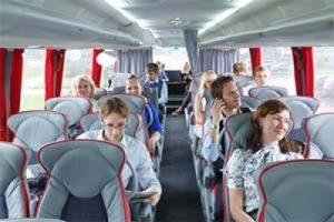 Автобус для доставки сотрудников