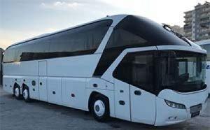 Обзор автобуса Неоплан Старлайнер (Neoplan Starliner) и технические характеристики