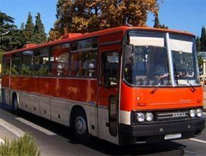 Автобус Икарус (Ikarus 250)