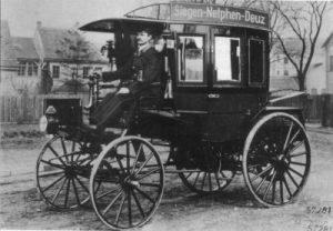 Первые автобусы для аренды: как это было