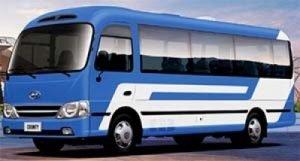 Автобус Хендай Каунту - небольшой, экономичный и комфортный