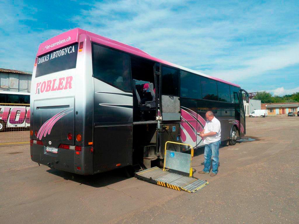 Дополнительное оборудование в автобусе