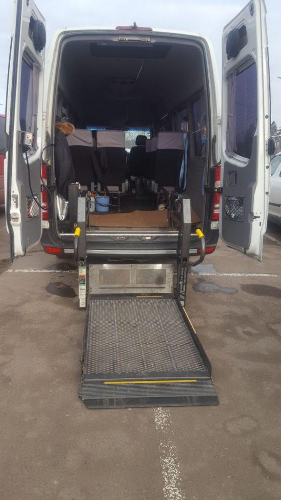 Приспособление для посадки инвалидов