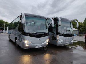 Пополнение автопарка – автобусы Yutong 6129