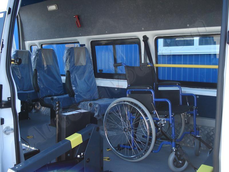 Оснащение для инвалидов