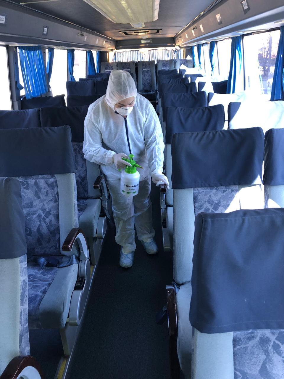 1 - Дезинфекция автобусов