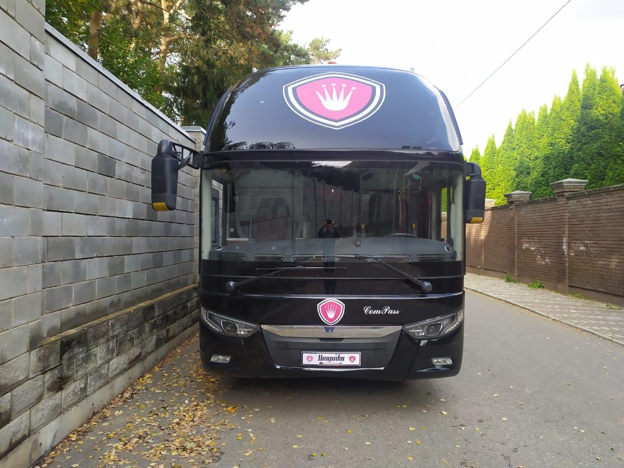 Автобус ТК «Аллегро» на канале «Пятница»