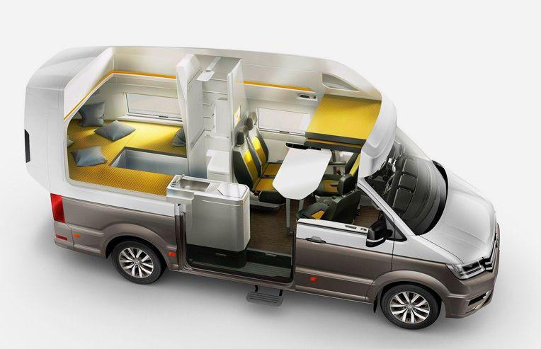 Топ-3 микроавтобусов для путешествий